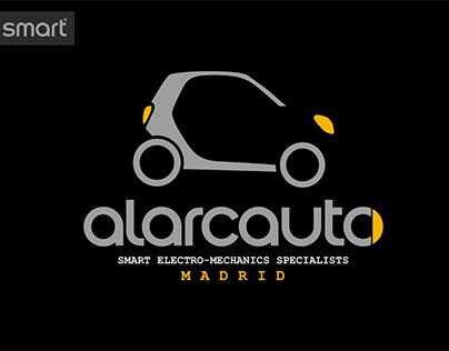 Branding Taller Smart Alarcauto Madrid