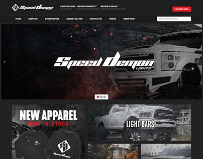 Speed Demon Website