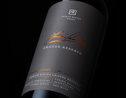 Grande Reserva Wine Label