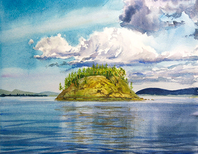 Stone islands of the North