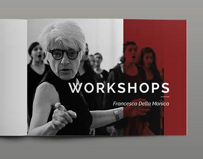 Apresentação - Workshops Francesca