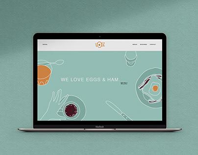 Yolk Cafe. Concept