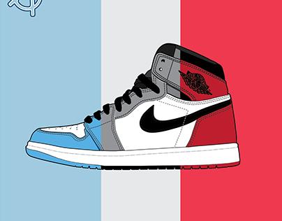 Nike Air Jordan Vector Art