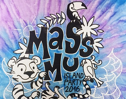 MassMu Island Party T-shirt