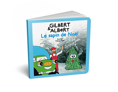 "Livres pour enfants ""Gilbert & Albert"""