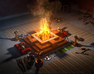 Havan Fire