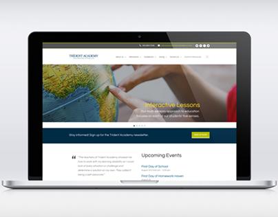 Trident Academy Website
