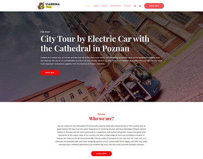 Viadrina Tours Website