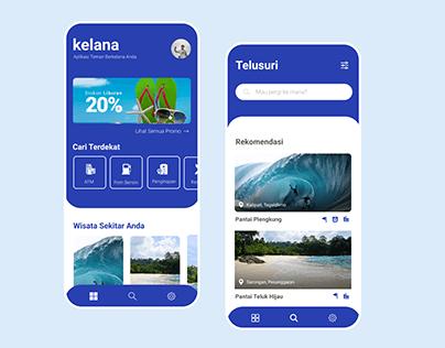 Kelana - Travel App Concept
