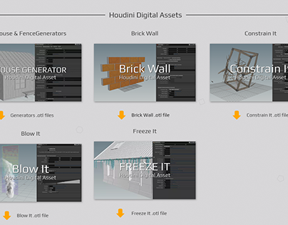 Houdini Digital Assets