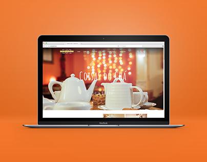 Coisas do Chá   Website