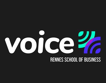 VOICE Design Sprint // Logo + Teaser Video