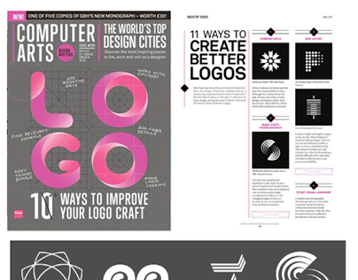 Abstract logo Book Counter Print UK Graphic