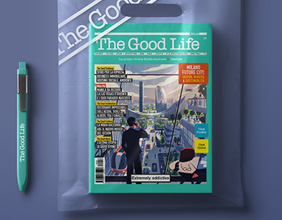 THE GOOD LIFE ITALIA #26 COVER