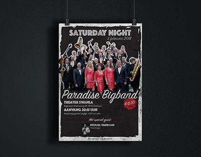 Paradise Bigband Poster