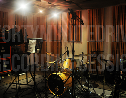 FORTYMINUTEDRIVE / RECORDING SESSION