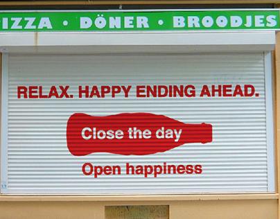 Coca-Cola // Open Happiness