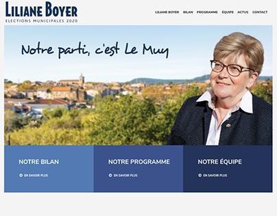 CAMPAGNE MUNICIPALE 2020 - LILIANE BOYER -