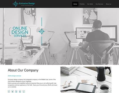 Online design service ( UI )