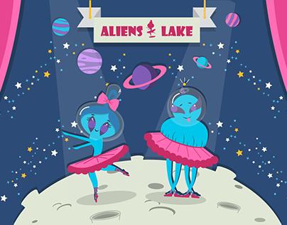 Aliens lake .......