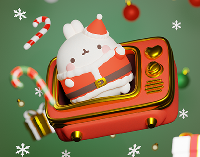Christmas Molang