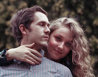 Inna & Maciej || Mamiya C220f + Kodak Portra 400