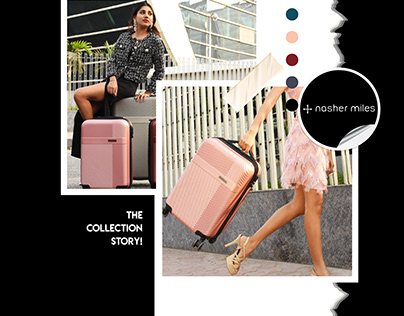 Photography for Nasher Miles Luggage Company