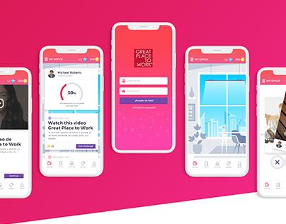 GPTW app design