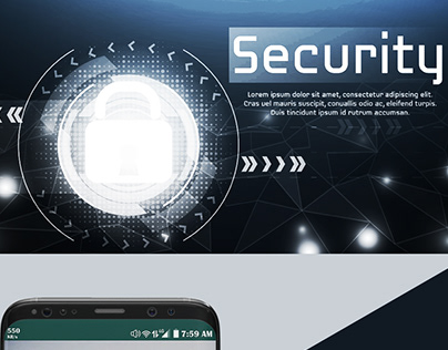 UI&UX Security Solution Mobile App