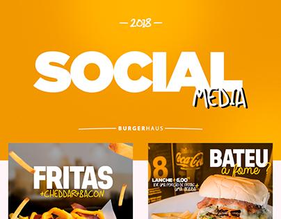 Social Media Burger Haus