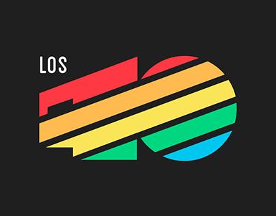 Los 40 - Restyling