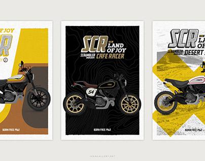 Scrambler Ducati Posters