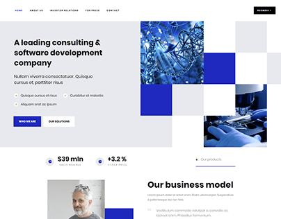 Corporation - WordPress