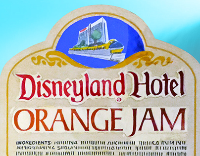Disneyland Label Designs