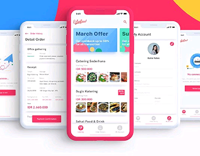 Caterfood - UI Kit for catering service