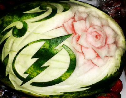 watermelon lightning logo