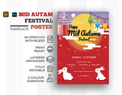 Mid autam festival poster