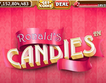 Ronald's Candies mobile casino slot for SciPlay