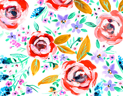 Spring 2017 Paisleys and Florals