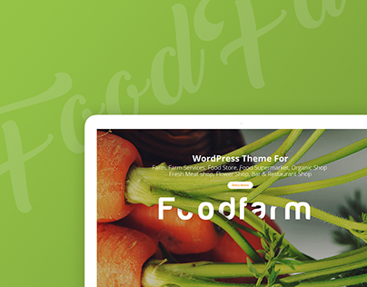 FoodFarm - Multipurpose PSD Template