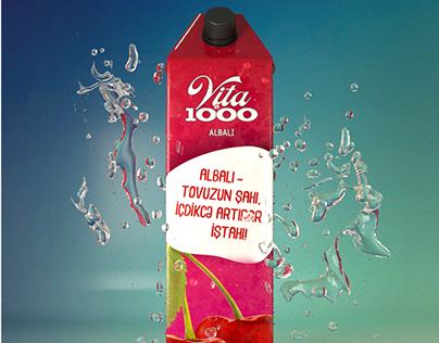 Vita1000 brending