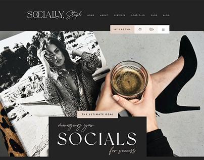 Wix Website Social Media Manager