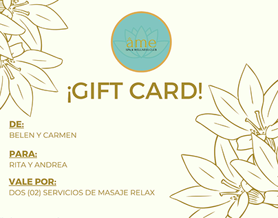 gift card - @spaamepy