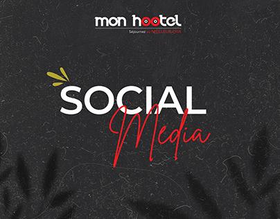 Mon Hootel - Social Media