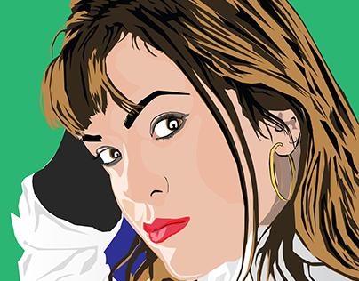 Girl Illusturation