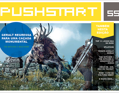 PUSHSTART - Video Game Magazine
