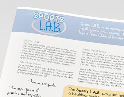 Sports Lab Newsletter