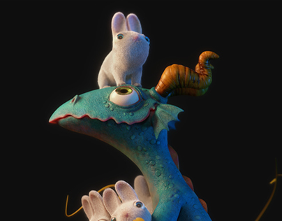 I Haz Bunnies - 3D!!!