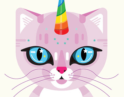 Illustration: Unicorn Cat
