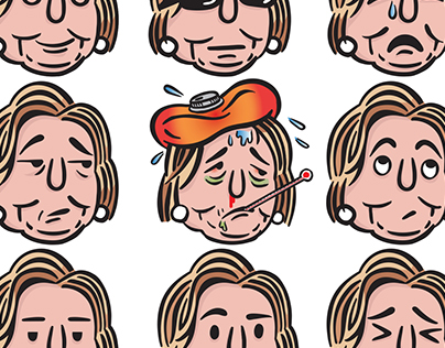 Hillary Clinton Emojis for The Nib + First Look Media